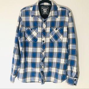 Vans Flannel Button Down Shirt